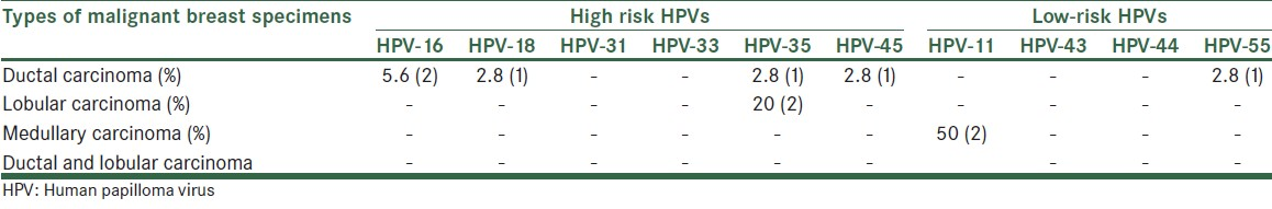 hpv high risk with genotype tp