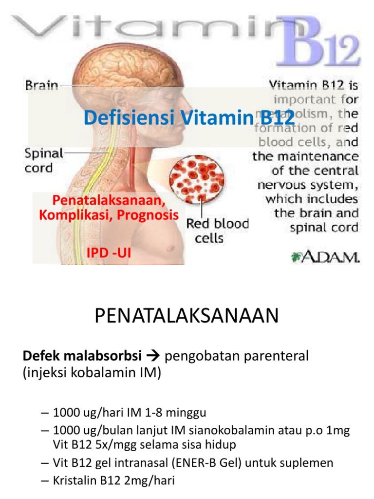 Deficitul de vitamina B12: cauze, riscuri si simptome