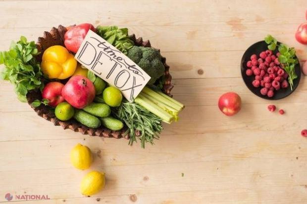 detoxifiere ficat legume