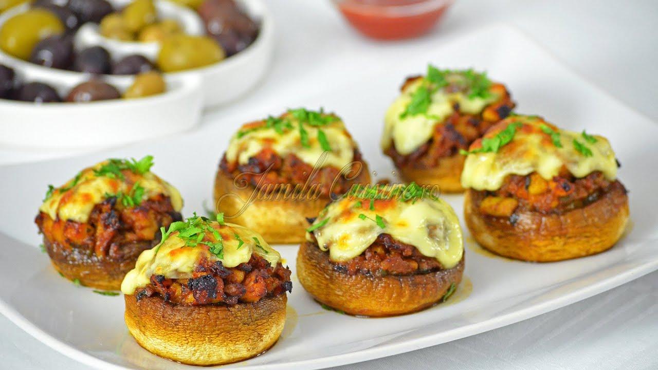 Paste cremoase cu ciuperci