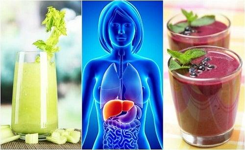 4 smoothie-uri pentru curatarea ficatului