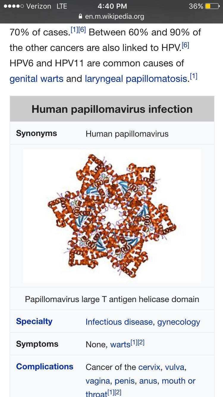 papillomavirus infection complications hpv related mouth cancer