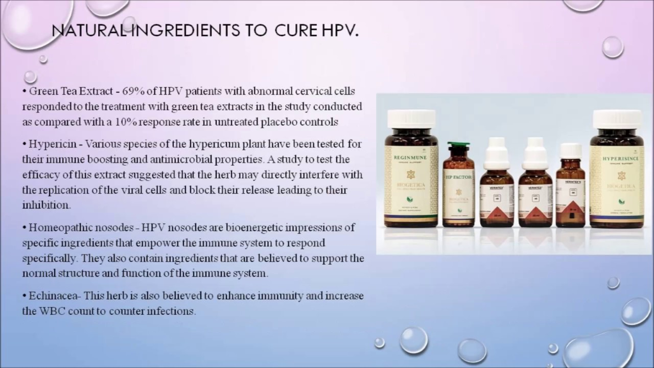 hpv virus alternative treatment