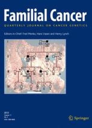 familial cancer author instructions