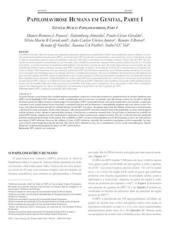 Depistarea Precoce a Infectiei Genitale Cu Human Papilloma Virus