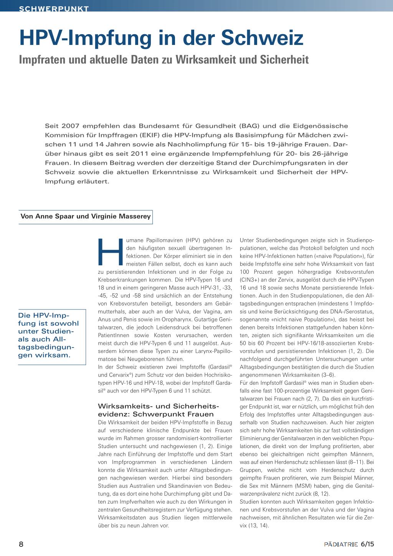 hpv impfung schema