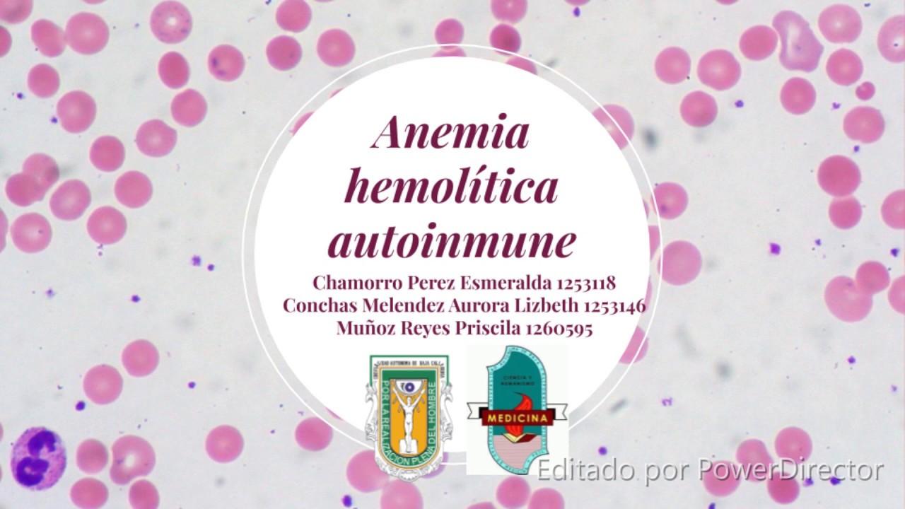 anemie hemolitica