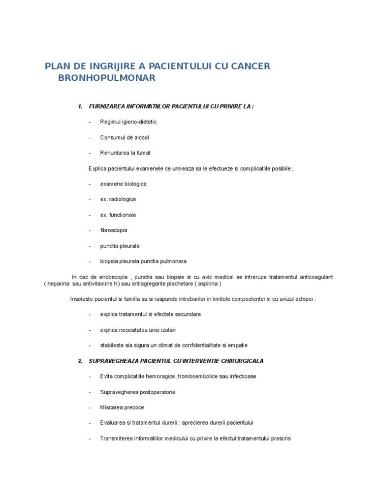 cancer de colon plan de ingrijire papilloma virus metamedicina