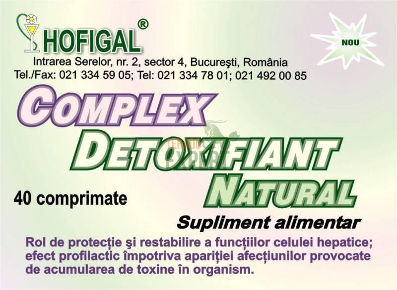 Complex Detoxifiant Natural - Hofigal