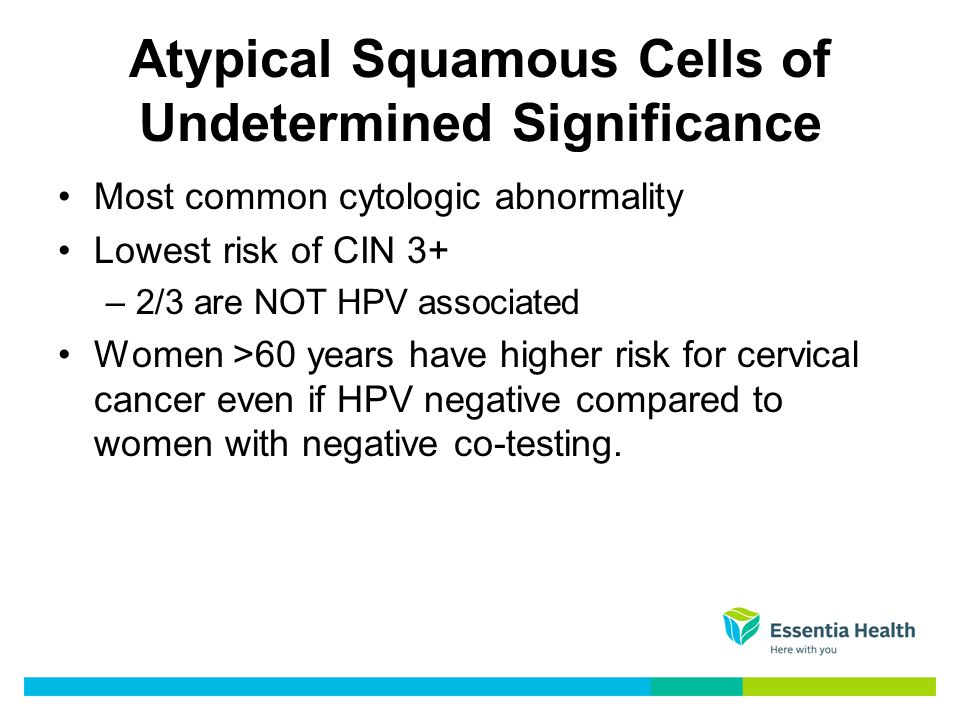hpv high risk atypical squamous cells wart treatment for