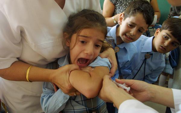 papilloma virus bambina