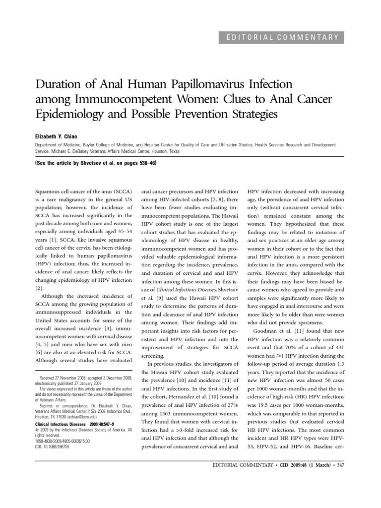 papillomavirus in sarcina