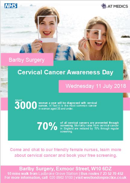 cervical cancer nhs condyloma acuminata literature
