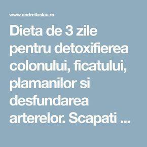 3 zile detoxifierea ficatului