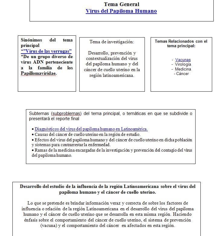 virus de papiloma humano tesis