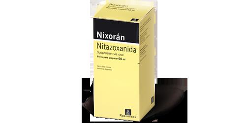 oxiuros nitazoxanida